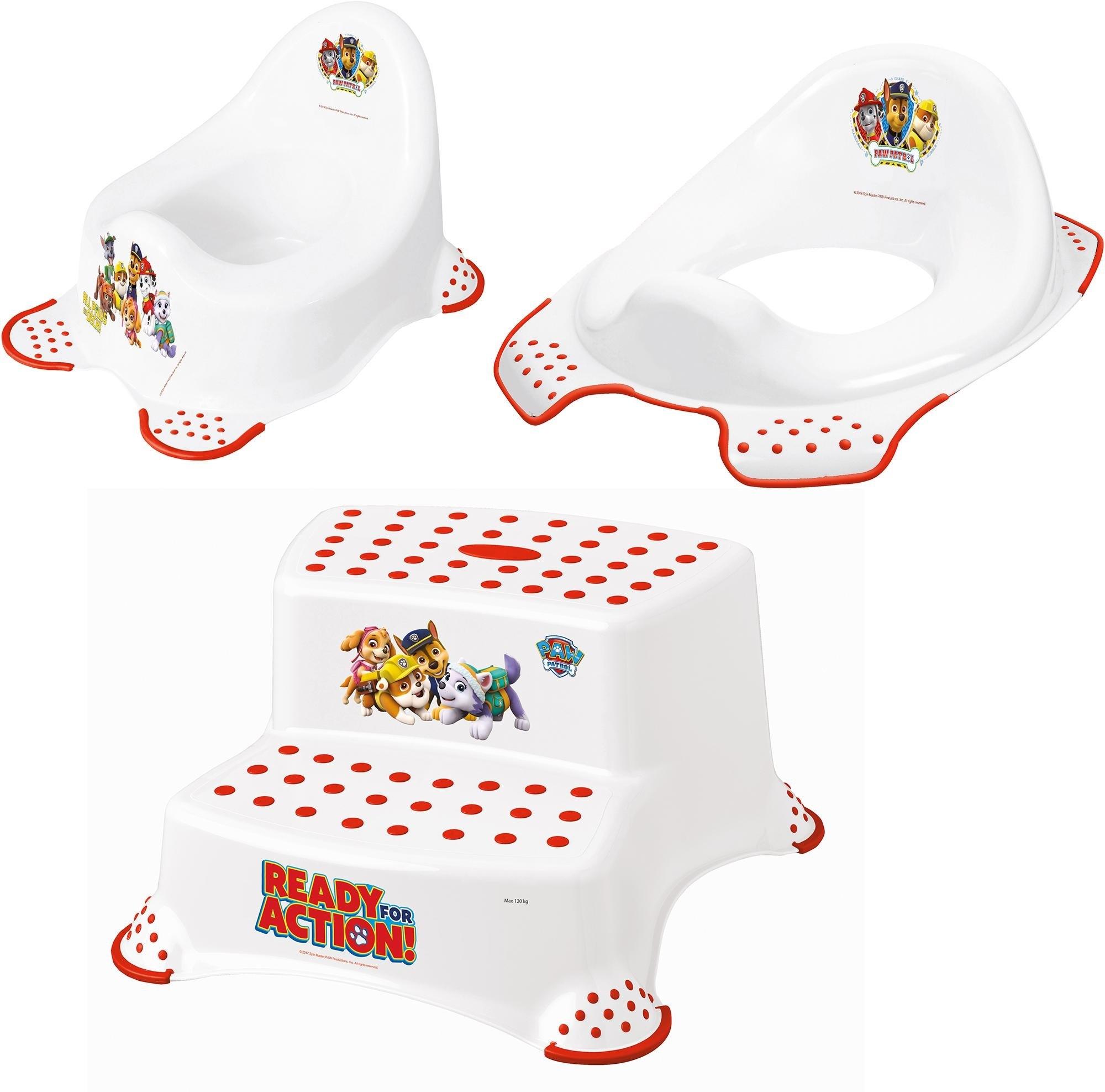 Keeeper 3-delige verzorgingsset voor kinderen - potje, toiletzitting en trapkrukje, »Paw Patrol« nu online kopen bij OTTO