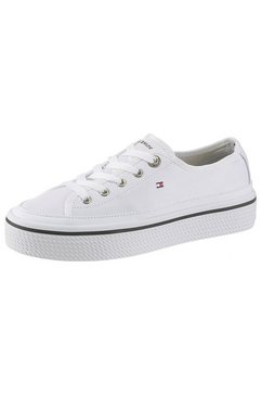 tommy hilfiger plateausneakers »kelsey idi« wit
