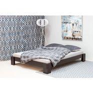 home affaire futonbed van massief grenen bruin