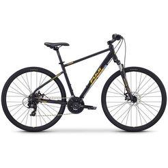 fuji bikes fitnessfiets »traverse 1.7 disc«, shimano tourney, 21 versn. schakelsysteem, derailleur zwart