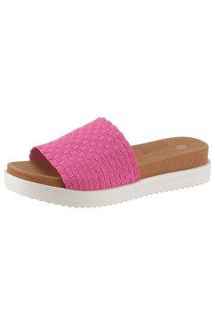 bernie mev slippers »capri« roze