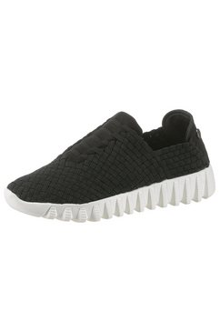 bernie mev slip-on sneakers zwart