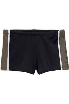 chiemsee zwemboxer met contrastinzetten zwart