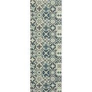 loper voor de keuken, »marrakesh«, andiamo, rechthoekig, hoogte 5 mm, machinaal vervaardigd grijs