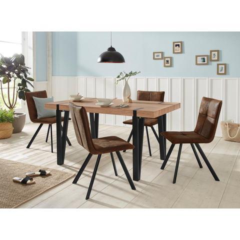Eethoek Sanchez-Parker, tafel met 4 stoelen