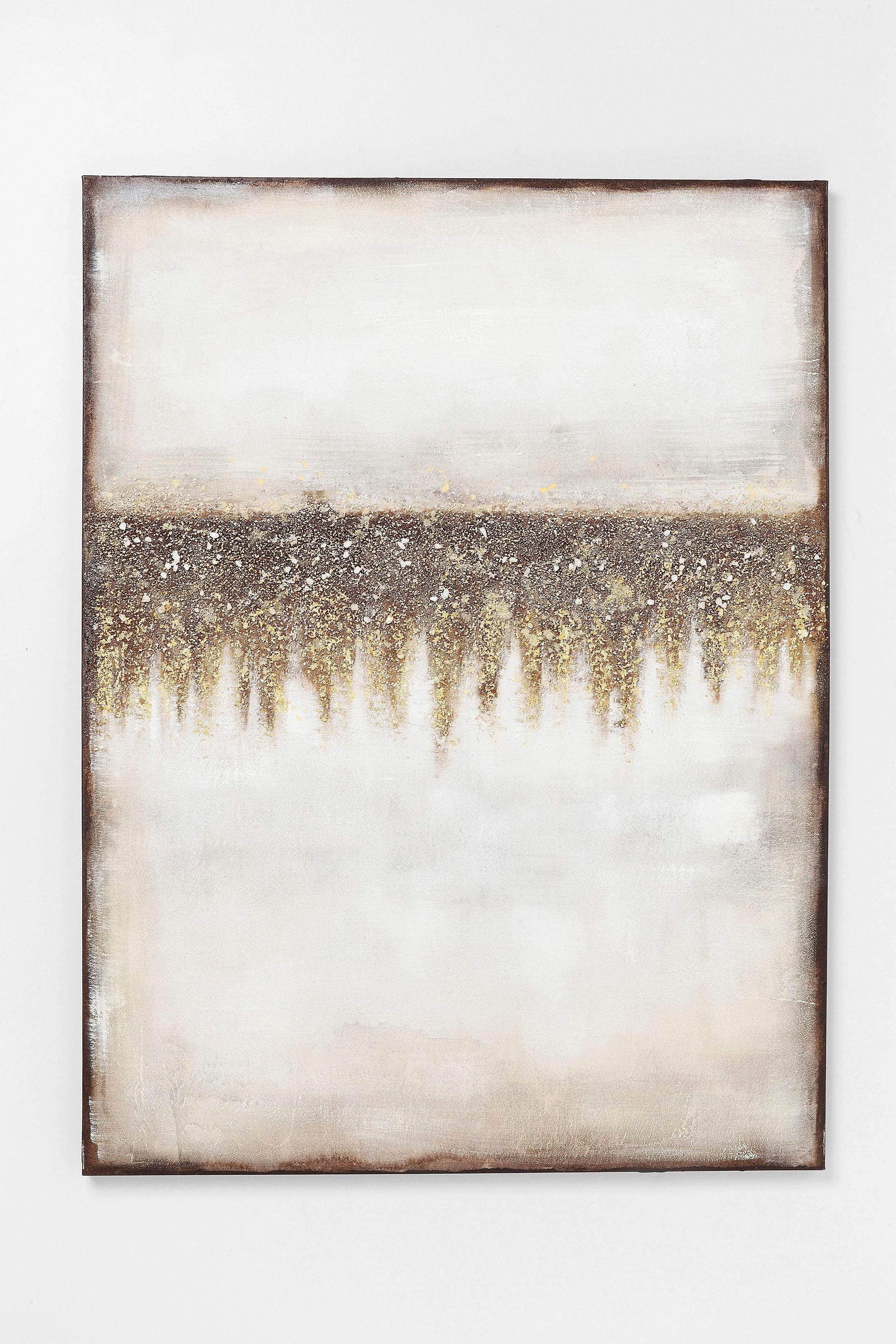 KARE Design KARE olieverfschilderij »Abstract Fields« goedkoop op otto.nl kopen