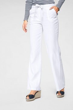 aniston casual linnen broek wit