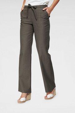 aniston casual linnen broek bruin