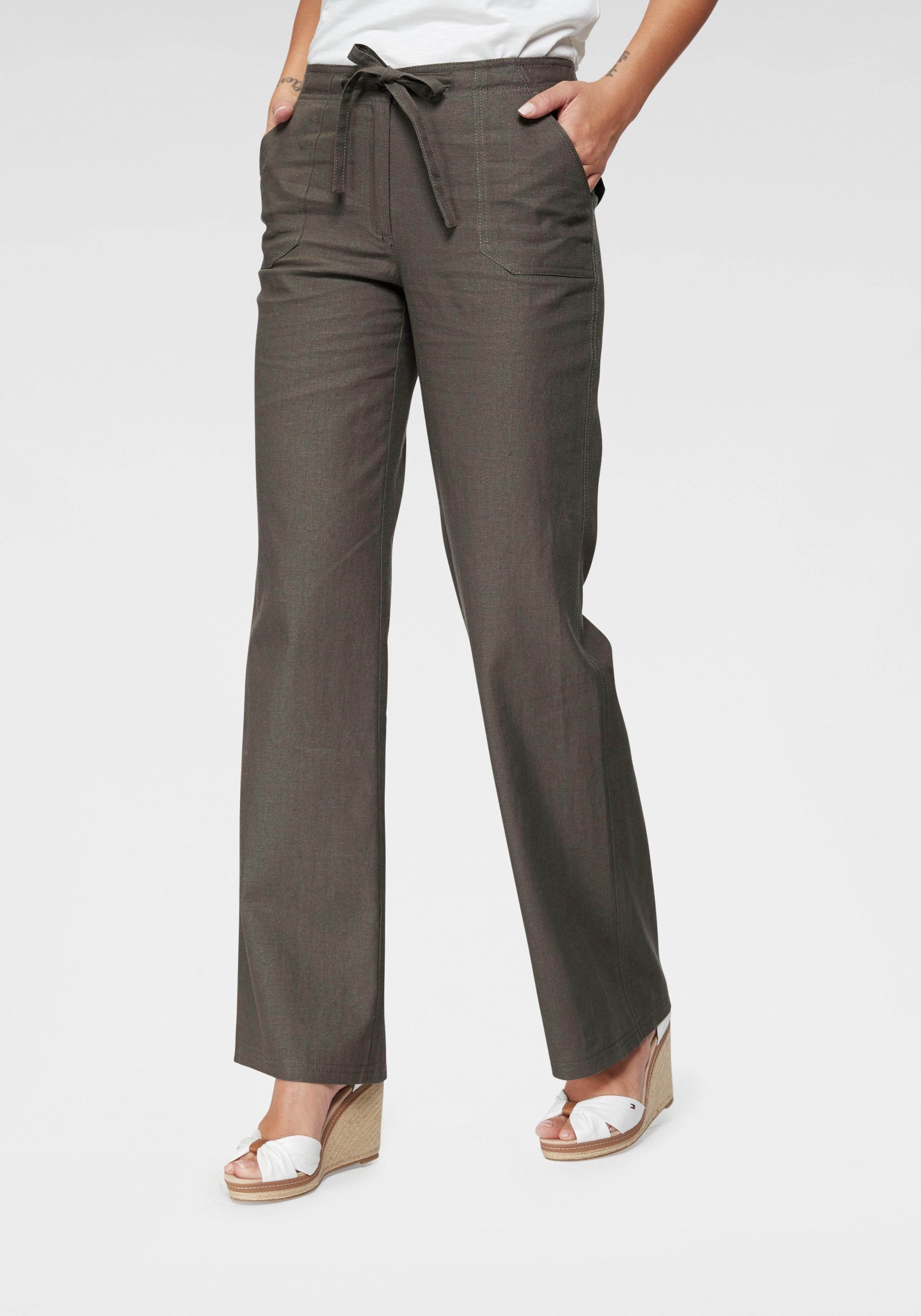 Aniston Casual Cheer linnen broek goedkoop op otto.nl kopen