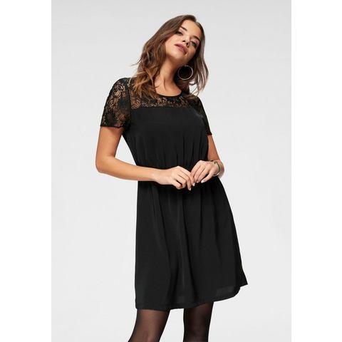 ONLY jurk met kant GLAM zwart