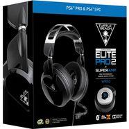 turtle beach »ps4 elite pro 2« gamingheadset (bluetooth, met snoer, externe microfoon) zwart