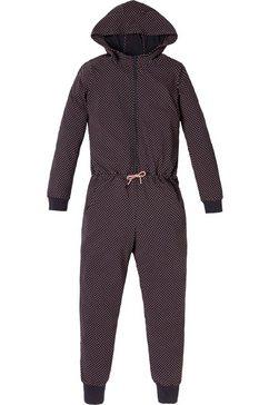 schiesser jumpsuit »meisjes - 163286-203 antraciet mix  relax« grijs