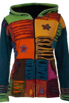 deproc active fleecejack »multicolor nunavut women flower power« multicolor