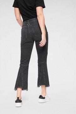diesel 7-8 jeans »earlie« zwart