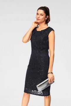 select! by hermann lange kanten jurk blauw