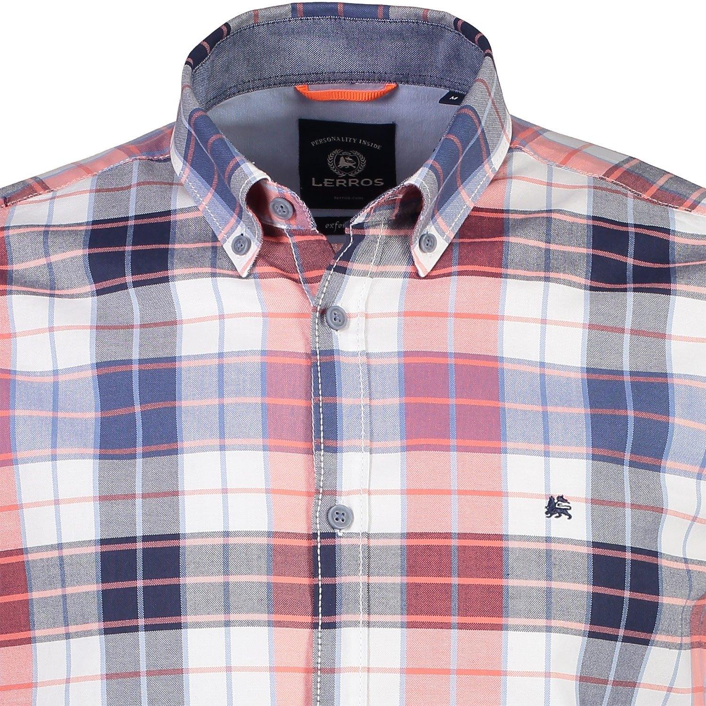 Online Gekocht Geruit Overhemd Lerros Snel hrCdQxst