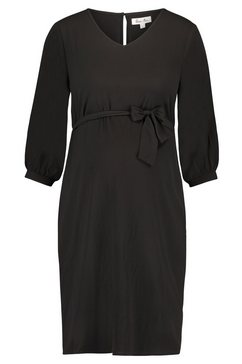 queen mum jurk »woven« zwart