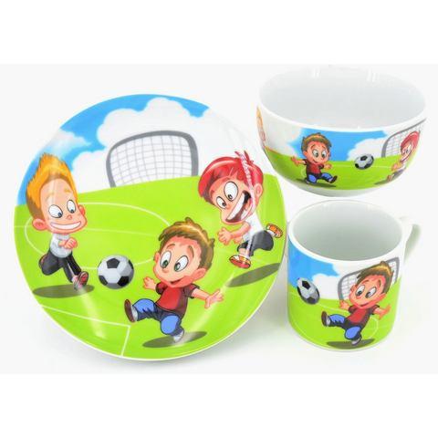 Retsch Arzberg kinderservies set Voetbal (set, 3 delig)