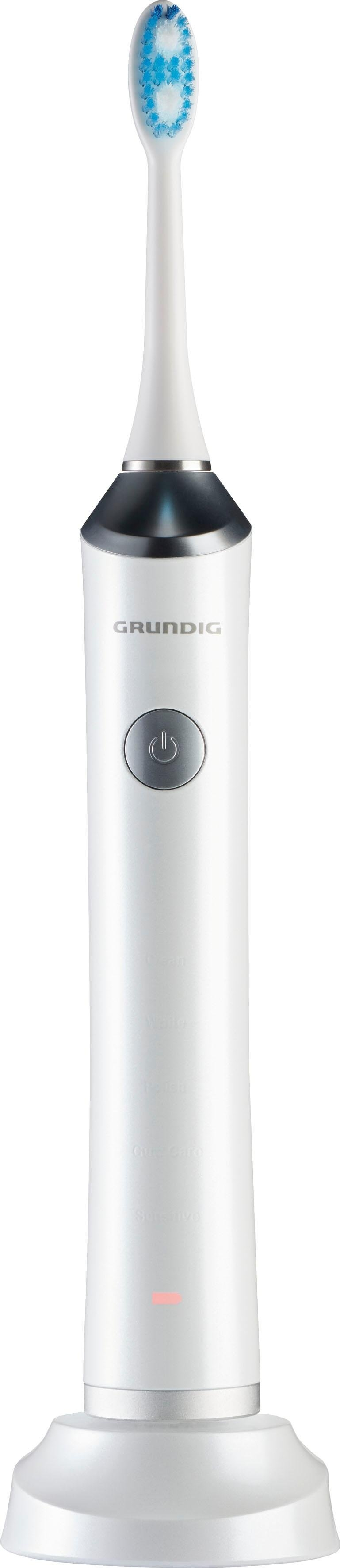 Grundig sonische tandenborstel TB 8730, 2 opzetborsteltjes - verschillende betaalmethodes
