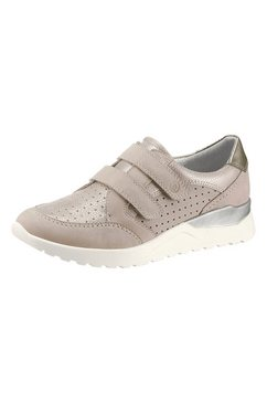reflexan klittenbandschoenen met verwisselbaar voetbed beige