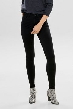 only high waisted jeans »royal« zwart