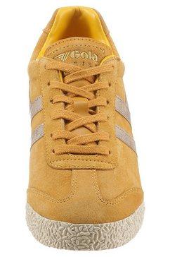 gola classic sneakers met metallicbeleg geel