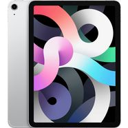 "apple tablet ipad air wi-fi + cellular 256gb|ipad air (2020) wi-fi + cellular 256gb, 10,9 "", ipados, inclusief oplader zilver"