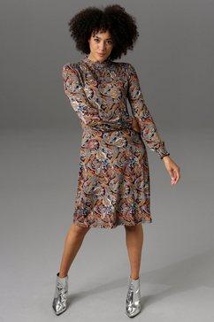 aniston casual jerseyjurk met paisleydessin - nieuwe collectie multicolor