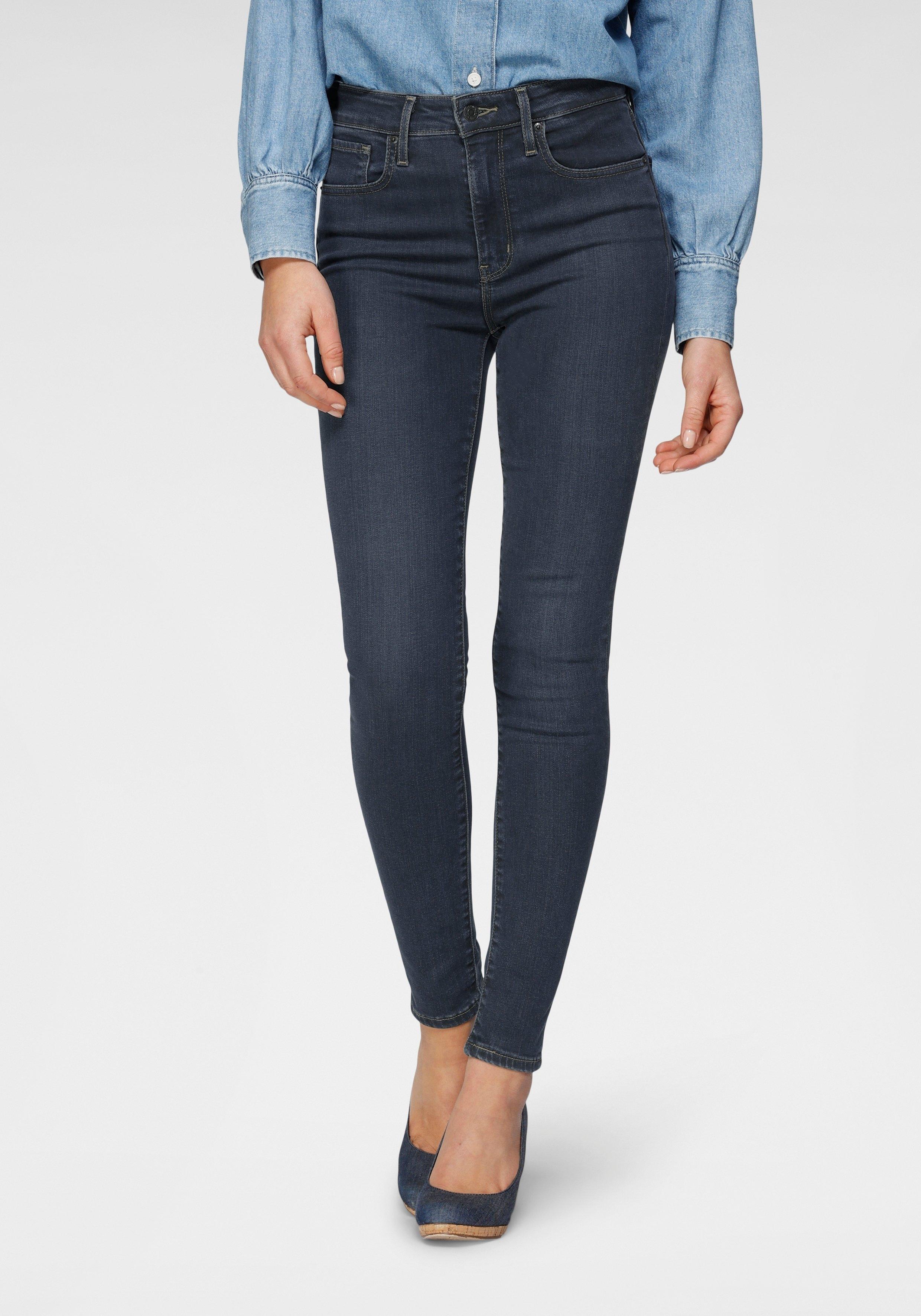 Levi's skinny fit jeans 721 High rise skinny met hoge band - gratis ruilen op otto.nl