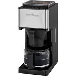 proficook koffiezetapparaat met maalwerk pc-ka 1138, koffiekan 1,25 l, papieren filter 1x4 zilver