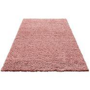 hoogpolig vloerkleed, home affaire, »viva«, hoogte 45 mm, geweven roze