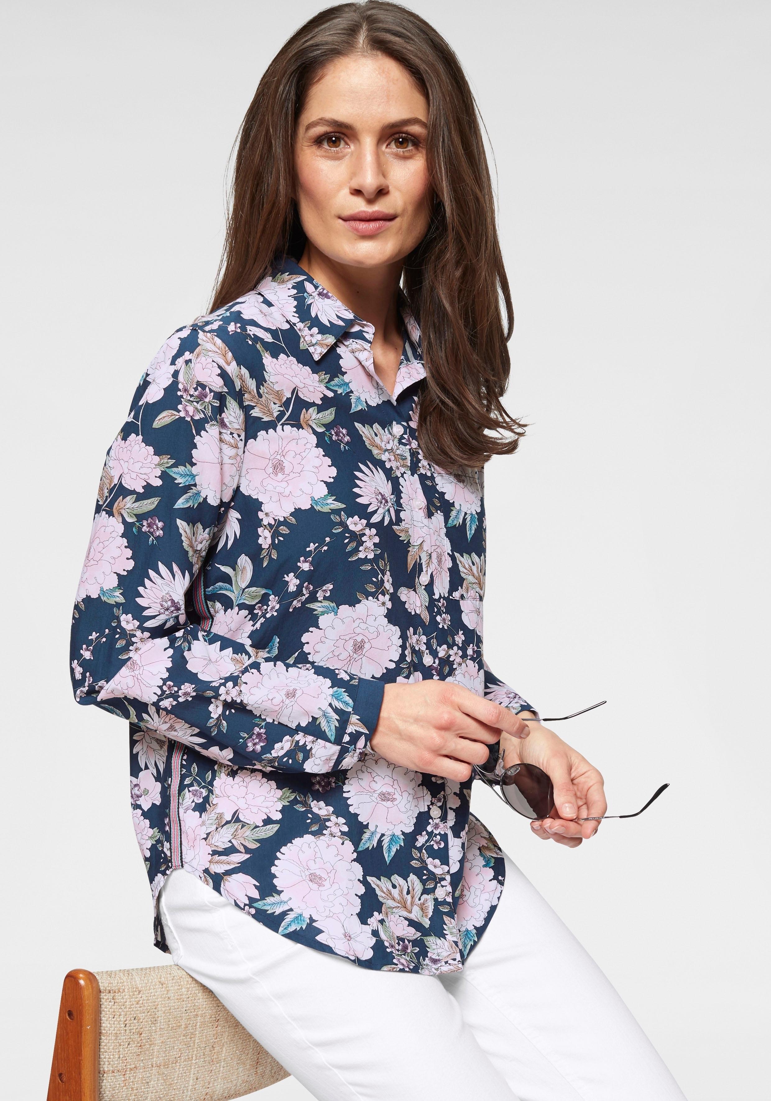 Clarina gedessineerde blouse goedkoop op otto.nl kopen