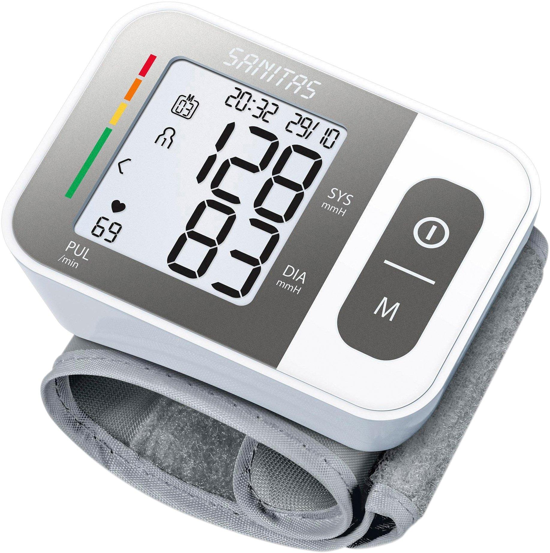 Bloeddrukmeter voor de pols met alarmeringsfunctie bij eventuele hartritmestoornissen bestellen: 30 dagen bedenktijd