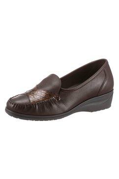 airsoft mocassins met verwisselbaar voetbed bruin