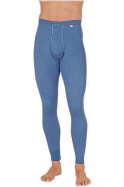 kumpf lange broek van puur katoen blauw