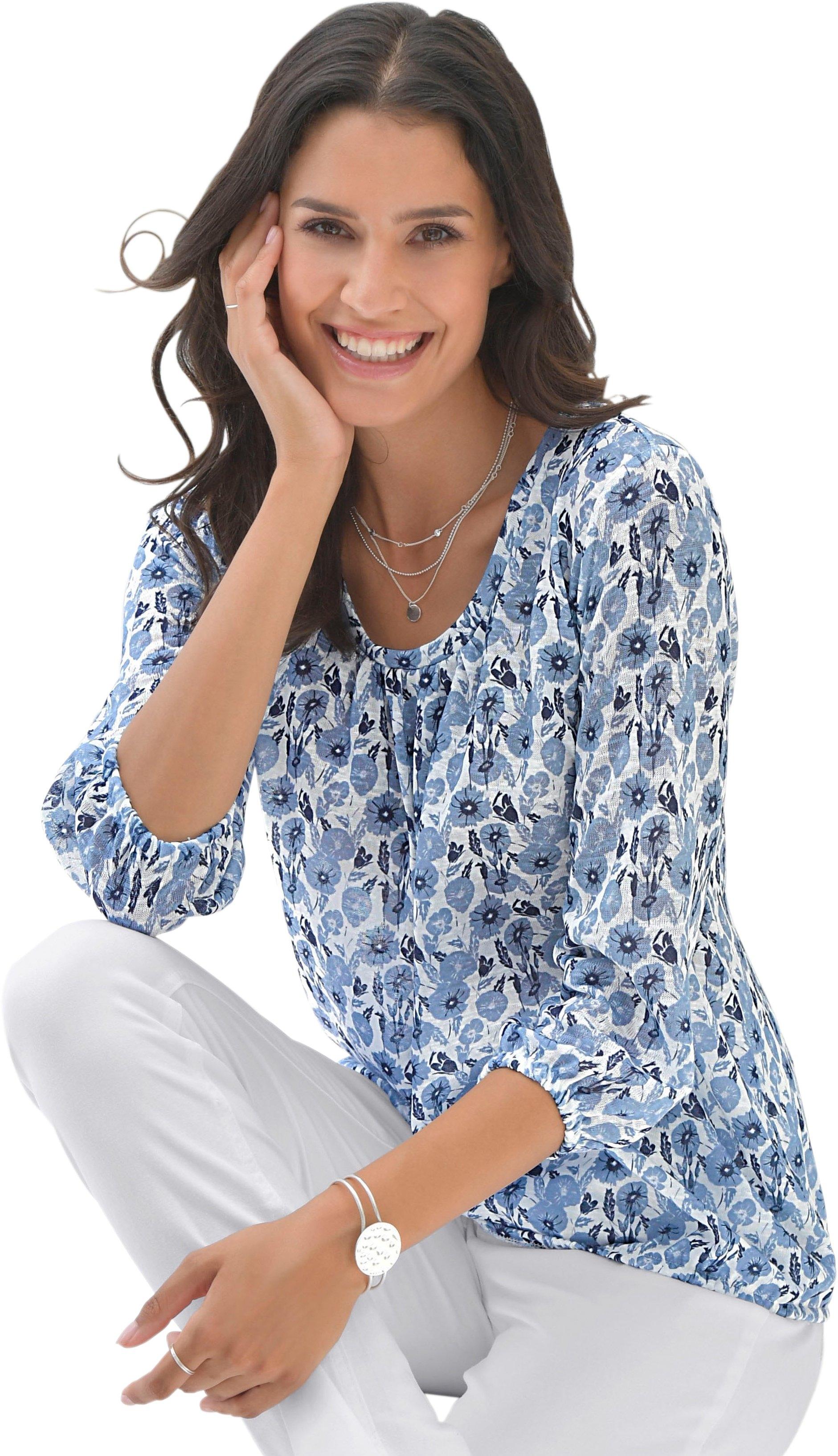 Met Inspirationen Harmonieus Online Classic Shirt Bloemmotief Bij bfy7vIY6g