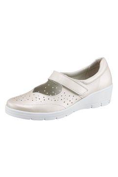 airsoft ballerina's met siernaden wit