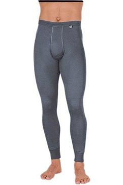 kumpf lange broek van puur katoen grijs