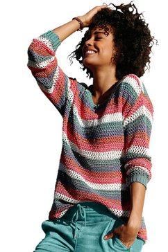 classic inspirationen trui in gemakkelijk te onderhouden kwaliteit multicolor
