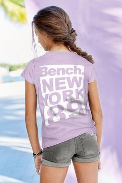 bench. t-shirt paars
