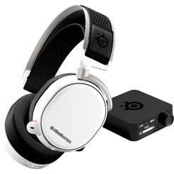 steelseries »arctis pro wireless white« gaming-headset (bluetooth, hi-res, noise-cancelling) wit