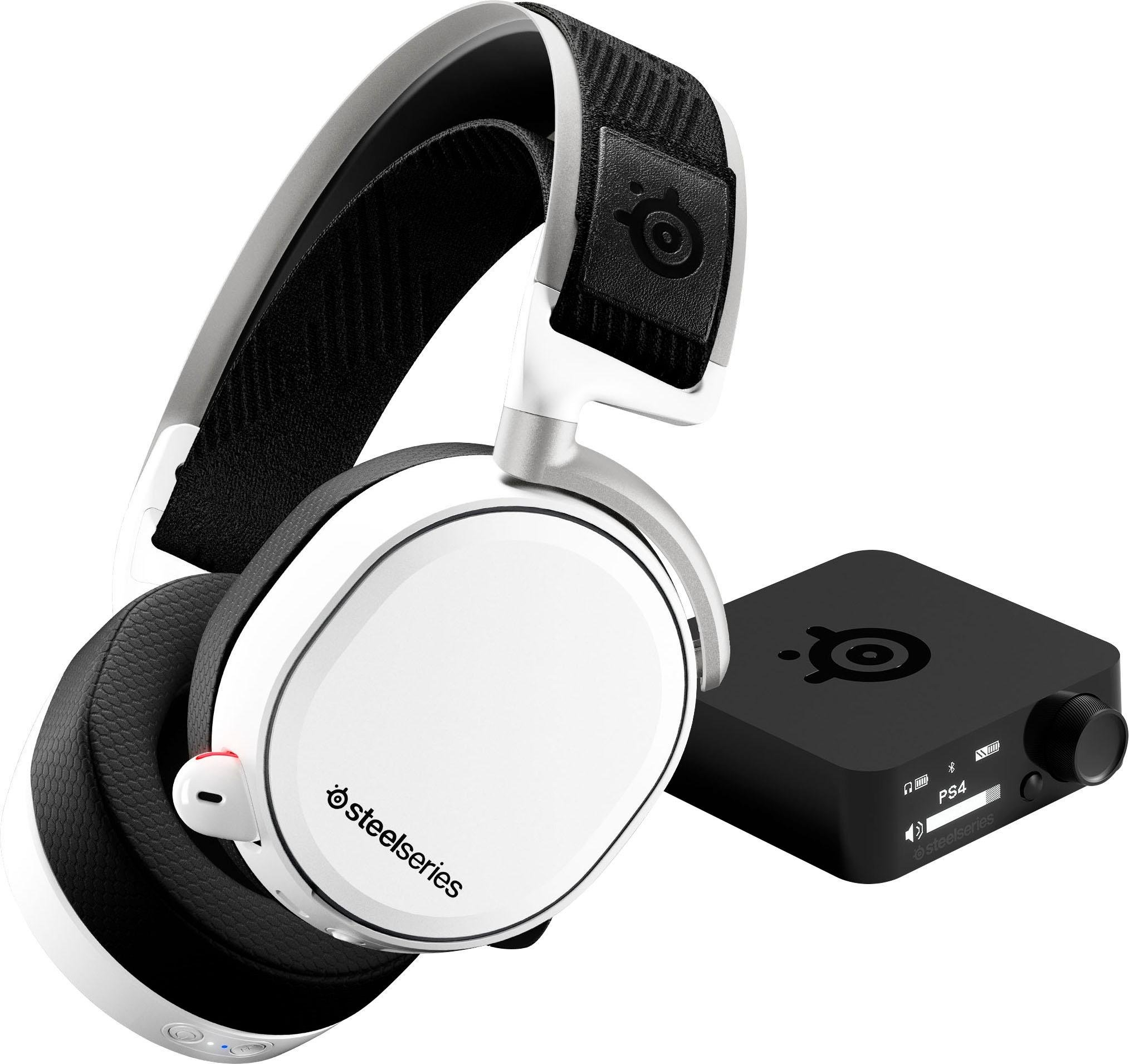 Steelseries »Arctis Pro Wireless White« gaming-headset (bluetooth, Hi-Res, Noise-Cancelling) bij OTTO online kopen