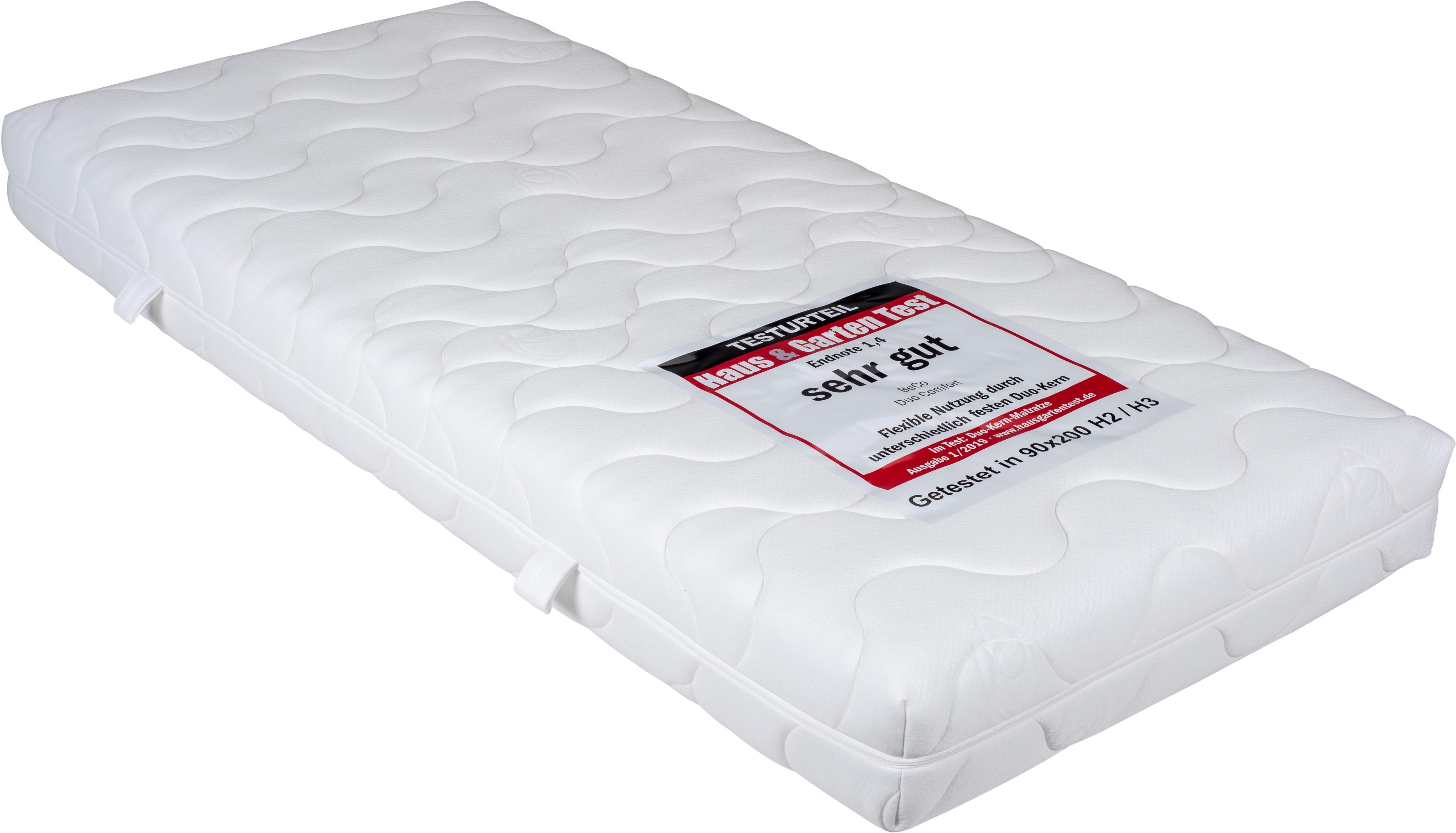 Beco EXCLUSIV comfortschuimmatras Duo comfort 20 Tweezijdig te gebruiken matras met twee verschillend stevige ligzijden hoogte 20 cm veilig op otto.nl kopen