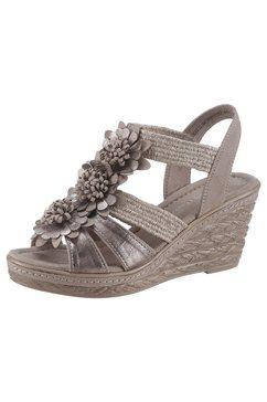 marco tozzi sandaaltjes beige