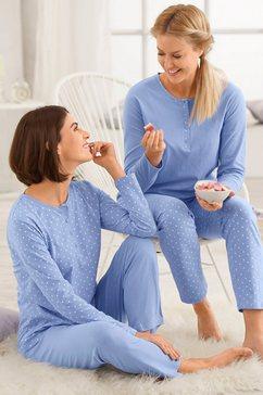 driesen pyjama (set van 2) blauw