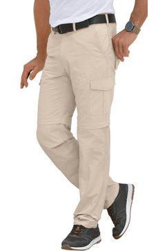 marco donati broek met innovatieve zipp-off-functie beige