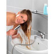 wasbaksproeier om snel je haar te wassen in de wasbak