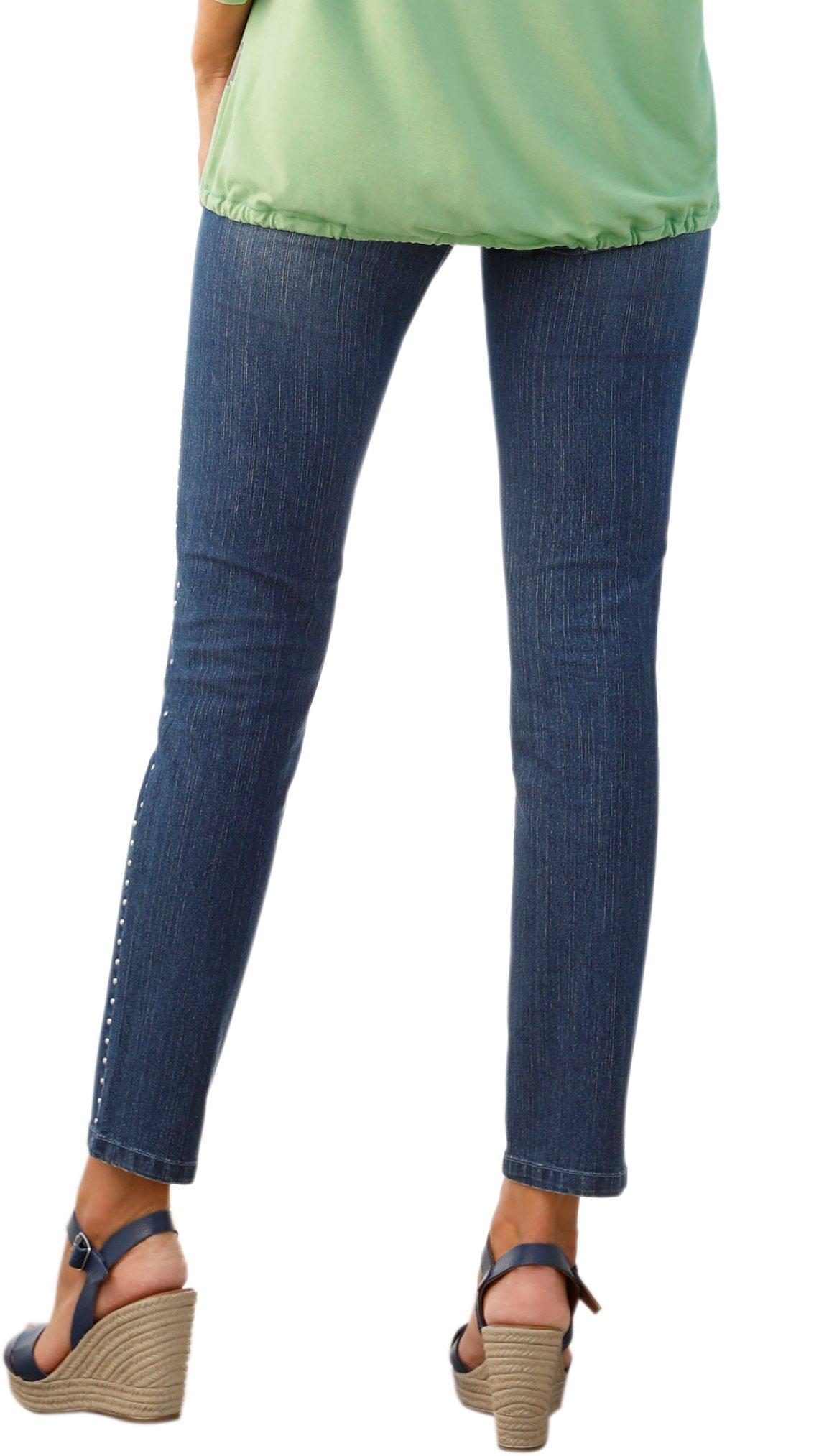 Inspirationen Makkelijk Met Studs Jeans Zilverkleurige Gevonden Classic ZiuPXOk