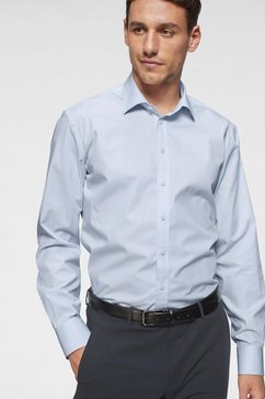 class international businessoverhemd gemakkelijk strijken blauw