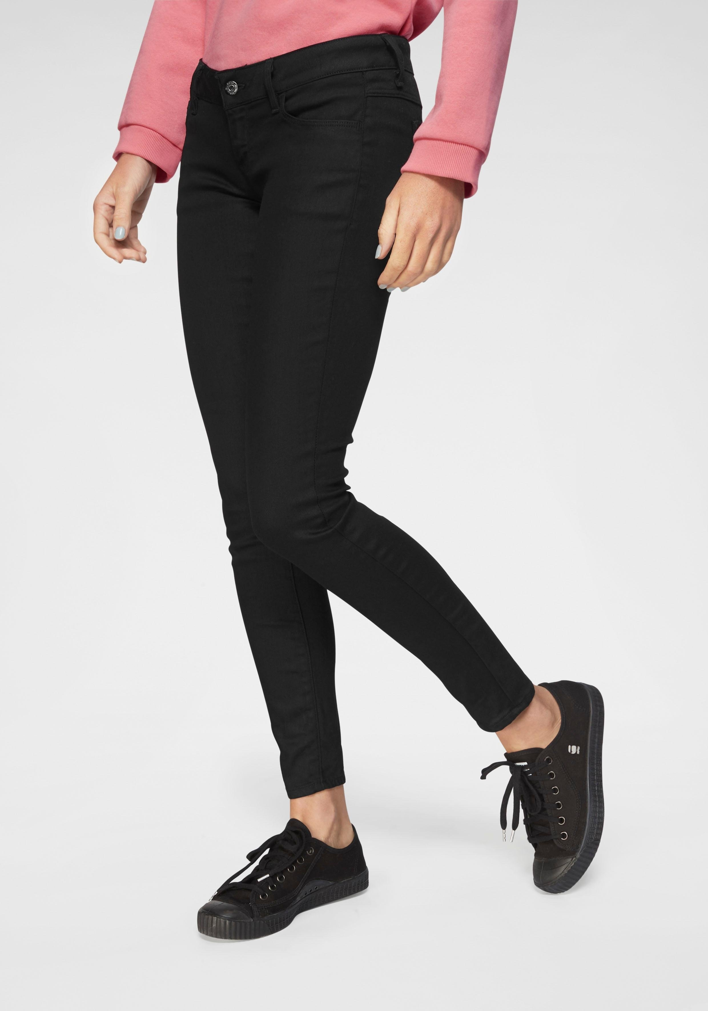 G-star Raw skinny fit jeans »3301 Deconst Low Skinny Wmn« - verschillende betaalmethodes